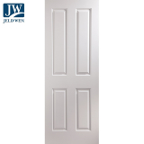 JELD-WEN Atherton White Primed 4 Panelled Interior Door