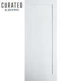 JELD-WEN Curated Primed Interior Moda 1 Panel Door