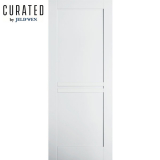 JELD-WEN Curated Primed Interior Moda 3 Panel Door