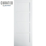 JELD-WEN Curated Primed Interior Moda 5 Panel Door