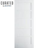 JELD-WEN Curated Primed Interior Moda 6 Panel Door