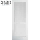 JELD-WEN Curated Primed Interior Moda 2 Clear Glazed Door