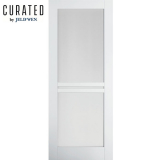 JELD-WEN Curated Primed Interior Moda 3 Clear Glazed Door