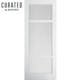 JELD-WEN Curated Primed Interior Moda 4 Clear Glazed Door