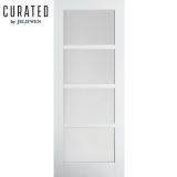 JELD-WEN Curated Primed Interior Moda 5 Clear Glazed Door