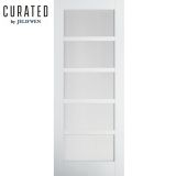 JELD-WEN Curated Primed Interior Moda 6 Clear Glazed Door
