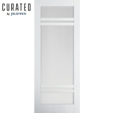 JELD-WEN Curated Primed Interior Moda 7 Clear Glazed Door