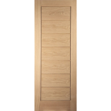 JELD-WEN Curated Oak Oregon Interior Cottage Horizontal Flush 44mm 30 Minute Fire Door