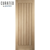 JELD-WEN Curated Oak Interior Oregon Cottage Flush Door