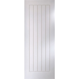 JELD-WEN Curated Simplicity White Primed Interior Cottage Flush Door