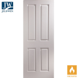 JELD-WEN Oakfield 4 Panel Interior FD30 Fire Door