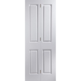 JELD-WEN Oakfield 4 Panel Bi-fold Interior Door