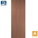 JELD-WEN Paint Grade Interior Unfinished Interior Fire Door