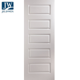 JELD-WEN Rockport White Primed 5 Panelled Interior Door