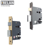Frelan Hardware Grade 2 Fire Rated Euro Profile Sashlock