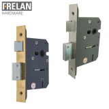 Frelan Hardware Grade 2 Fire Rated Architectural Quality 3 Lever Deadlock