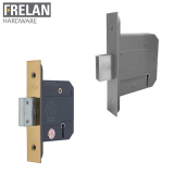 Frelan Hardware Fire and Insurance Rated 5 Lever BS3621 Deadlock