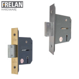 Frelan Hardware Grade 2 Fire Rated Architectural Quality 5 Lever Deadlock