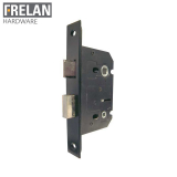 Frelan Hardware Black Bathroom Lock