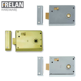 Frelan Hardware Reversible Door Rim Lock