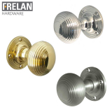Frelan Hardware Reeded Mortice Door Knob