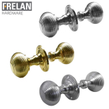 Frelan Hardware Reeded Rim Door Knob