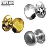 Frelan Hardware Unsprung Mushroom Mortice Door Knob 51mm