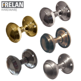Frelan Hardware Unsprung Lined Mortice Door Knob