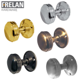 Frelan Hardware Unsprung Ringed Mortice Door Knob