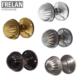 Frelan Hardware Unsprung Fluted Mortice Door Knob