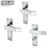 Frelan Hardware Deco Suite Door Lever Handle on Plate