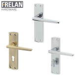 Frelan Hardware Bray Suite Door Lever Handle on Plate