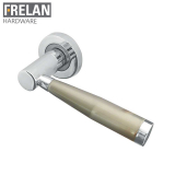Frelan Hardware Internal Alexander Door Handle Pair Lever on Rose