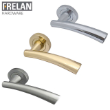 Frelan Hardware Garda Internal Lever on Rose Door Handle