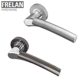 Frelan Hardware Arkus Internal Door Handle Pair Lever on Rose