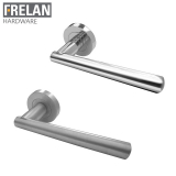 Frelan Hardware Rosetta Internal Door Handle Pair Lever on Rose