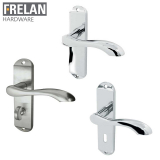 Frelan Hardware Broadway Internal Door Handle Pair Lever on Plate