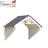KoverTek Clarendon Canopy with Roof and Frame