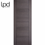 LPD Internal Ash Grey Vancouver Pre-finished Flush Door