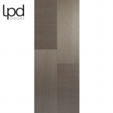 LPD Internal Chocolate Grey Hermes Pre-finished Flush Door