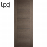 LPD Internal Chocolate Grey Vancouver Pre-finished Flush Door