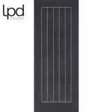 LPD Internal Dark Grey Laminate Mexicano Flush Door