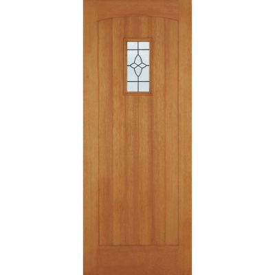External Hardwood COTTAGE Lead Glazed Door M&T
