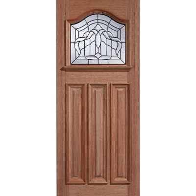 LPD External Hardwood ESTATE CROWN Lead Double Glazed Door M&T