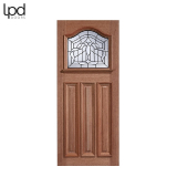 External Hardwood ESTATE CROWN Lead Double Glazed Door M&T