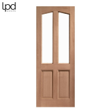 External Hardwood RICHMOND Traditional Unglazed Door M&T