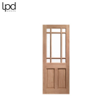 External Hardwood WARWICK Unglazed Door M&T