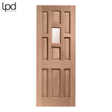 External Hardwood YORK Traditional Unglazed Door M&T