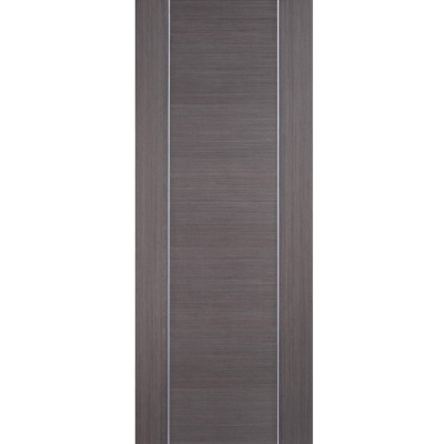 LPD Internal ALCARAZ Chocolate Grey Pre-Finished Flush Door