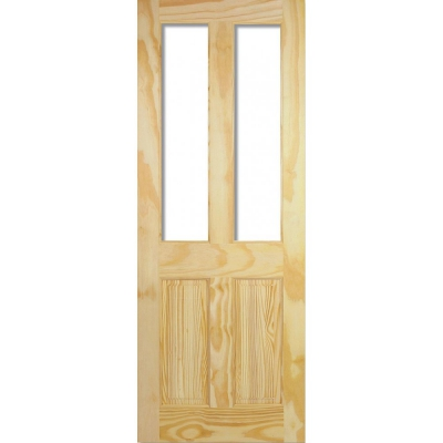 LPD Internal Clear Pine RICHMOND Traditional Unglazed Door